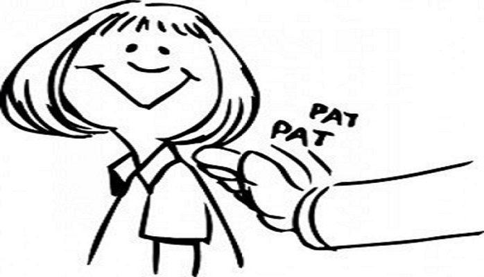 Pat on the back. - Suzanne Wardrop Divorce Coach NJ